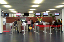Turbo JET Airport Routes Check -in Counter
