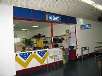 Luggage Service Counter